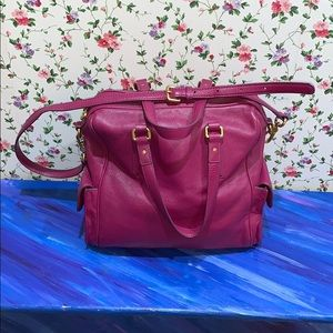 Marc by Marc Jacobs Fuschia Pebbled Leather Bag